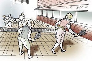 テニス起源